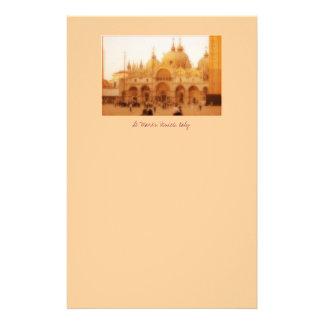 St Marques, Venise, Italie Papier À Lettre Customisé