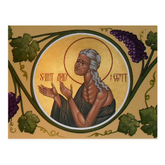St Mary de carte de prière de l'Egypte Carte Postale