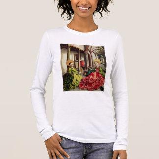 St Mary Magdalene et St Catherine de l'Alexandrie T-shirt À Manches Longues