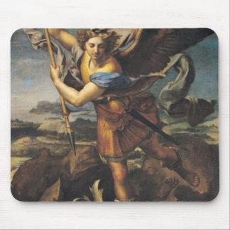 St Michael accablant le démon, 1518 Tapis De Souris
