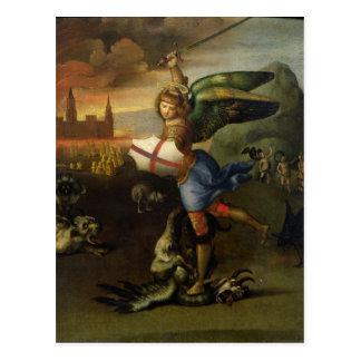St Michael, c.1503-05 Carte Postale