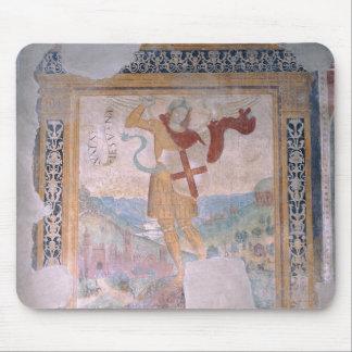 St Michael (fresque) Tapis De Souris