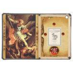 St Michael le parchemin de monogramme d'Arkhangel