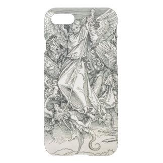 St Michael luttant avec le dragon Coque iPhone 8/7