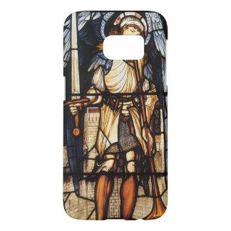 St Michael par Burne Jones, Arkhangel vintage Coque Samsung Galaxy S7