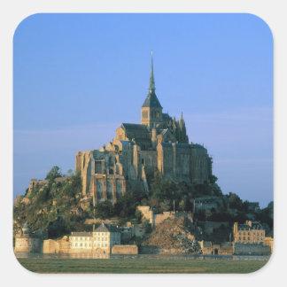 St Michel, la Manche, Normandie, France de Mont Sticker Carré