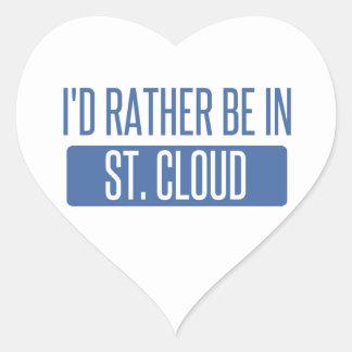 St Nuage Sticker Cœur
