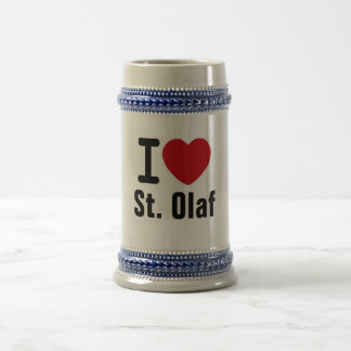 St Olaf Stein Chope À Bière