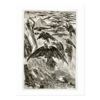 St Patrick et les oiseaux de démon, 'du trias T Carte Postale