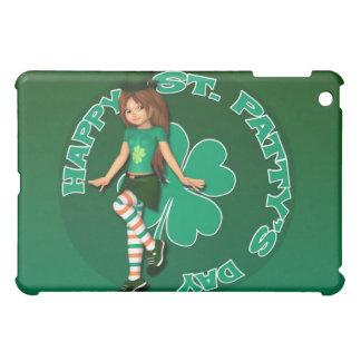 St. Patty's Day Sadie 16 iPad Case