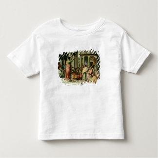 St Paul prêchant à Athènes (bande dessinée pour le T-shirt Pour Les Tous Petits