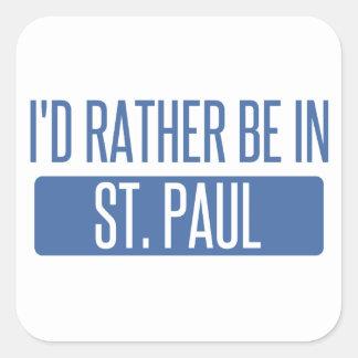 St Paul Sticker Carré