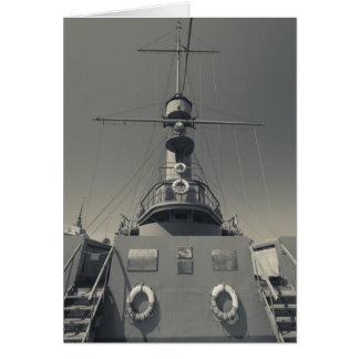 St Petersbourg, l'aurore 3 de croiseur Carte De Vœux