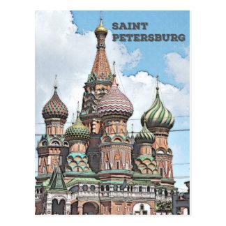 St Petersbourg, Russie Carte Postale