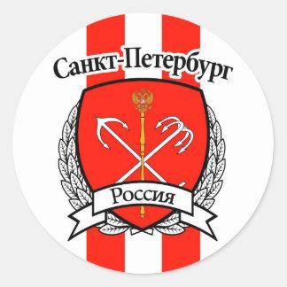 St Petersbourg Sticker Rond