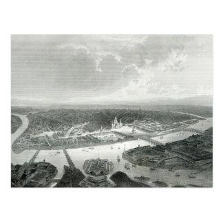 St Petersburg, gravé par S.Bradshaw, c.1860 Carte Postale
