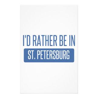 St Petersburg Motifs Pour Papier À Lettre