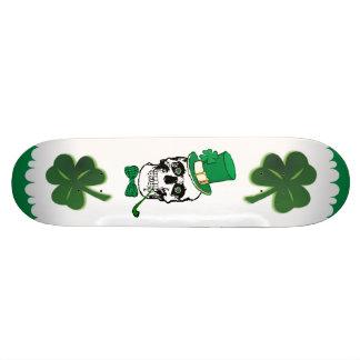 St Planche à roulettes de crâne de paddy Mini Skateboard 18,7 Cm