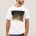 St Roch traitant la peste T-shirt