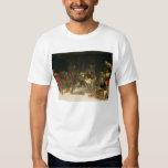 St Roch traitant la peste T-shirts