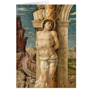 St SebastiAn par Andrea Mantegna Cartes