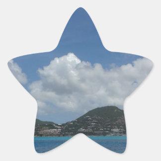 St Thomas États-Unis Îles Vierges Sticker Étoile