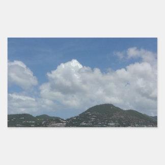 St Thomas États-Unis Îles Vierges Sticker Rectangulaire