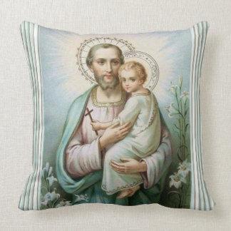 St Victor de Jésus de bébé de St Joseph Oreiller