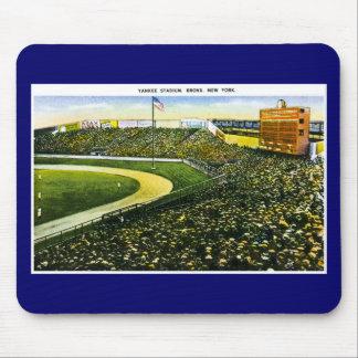 Stade de base-ball vintage, Bronx, New York Tapis De Souris