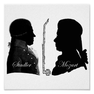 Stadler et Mozart Affiches