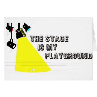 StageIsMyPlayground Carte De Vœux