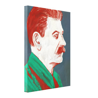 Stalin - toile d'art moderne 18x24 toile tendue sur châssis