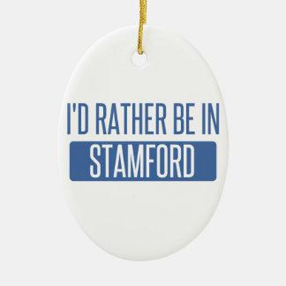 Stamford Ornement Ovale En Céramique
