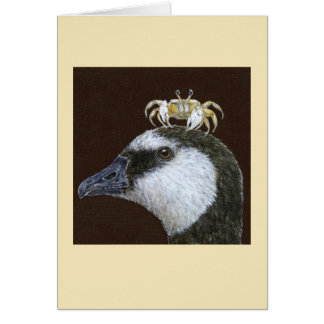 Standish la carte d'oie de bernache