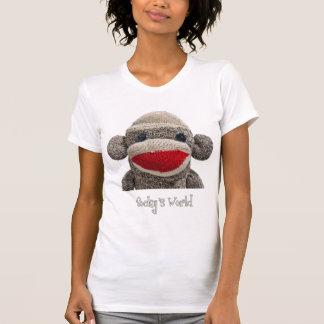 Stanley le T-shirt de singe de chaussette