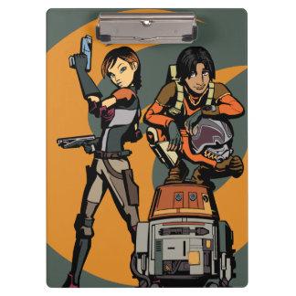 Star Wars la Sabine, Ezra et couperet