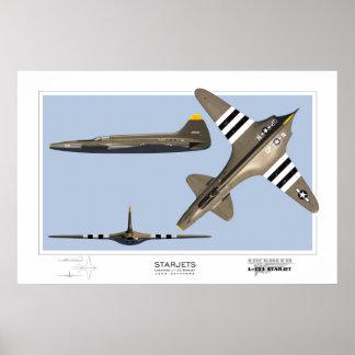 Starjets : Lockheed L-133 Posters