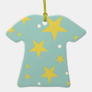 Starlight Ornement T-shirt En Céramique