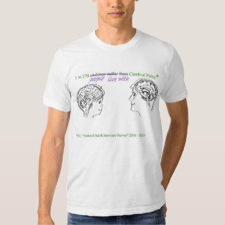 Stat d'infirmité motrice cérébrale t-shirt