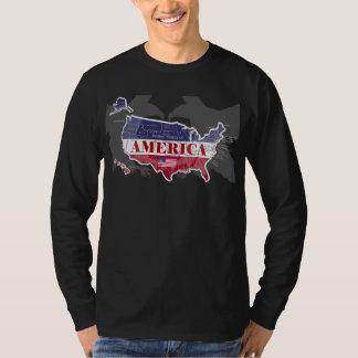 States Blue appelé Eagle chauve T-Shirt-3 de T-shirt