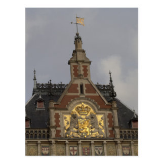 Station centrale, Amsterdam Carte Postale