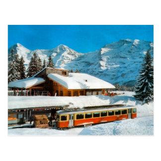 Station de Kleiner Scheidegg, Jungfrau Carte Postale