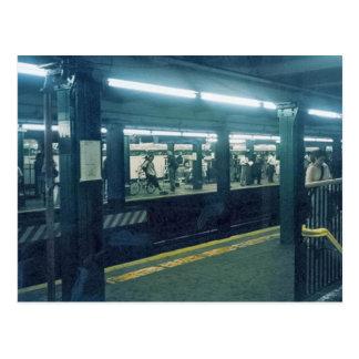 Station de métro carte postale