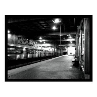 Station de métro d'Atlanta Carte Postale