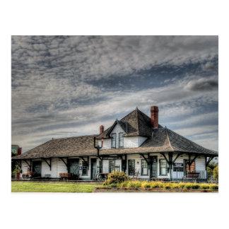 Station de train de Saskatchewan de fort, carte