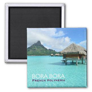 Station de vacances d'Overwater sur Bora Bora avec Aimant