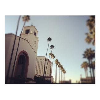 Station des syndicats de Los Angeles Carte Postale