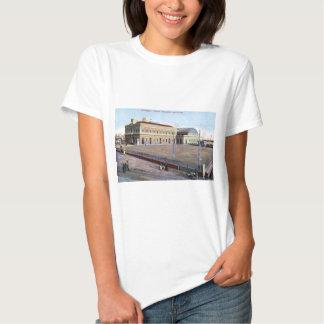 Station maritime, cru 1910 de Napoli Italie T-shirts