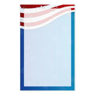 stationnaire 4 juillet patriotique papiers à lettres