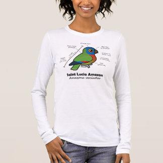 Statistiques d'Amazone de Sainte-Lucie T-shirt À Manches Longues